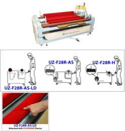 เครื่องม้วนกับอุปกรณ์คลายและการจัดตำแหน่งขอบอัตโนมัติ UZ-F28R-AS-LD