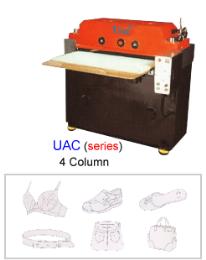 เครื่องตัดผ้าและพลาสติก UAC(series)