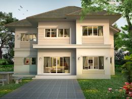 บ้านสำเร็จรูป แบบ Proud PI-58