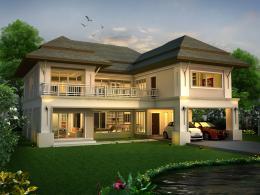 บ้านสำเร็จรูป แบบ Bali PK-37