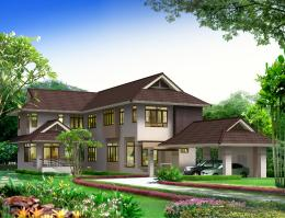 บ้านสำเร็จรูป แบบ Andaman PA-35