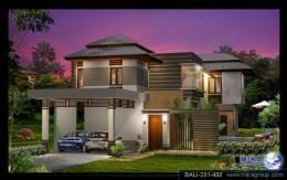 บ้านสำเร็จรูป แบบ Bali A-01
