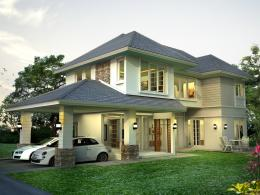 บ้านสำเร็จรูป แบบ Proud Pl-88