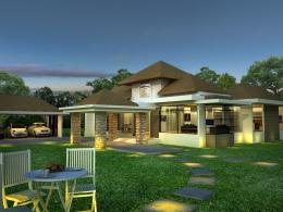 บ้านสำเร็จรูป แบบ Bali A-81