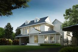 บ้านสำเร็จรูป แบบ Queensland A-98