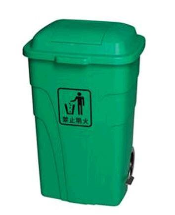 ถังขยะพลาสติก ฝาเปิด TD-6107 - TD-6108