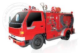 รถดับเพลิงถังน้ำในตัว