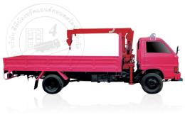 รถบรรทุกติดเครนสลิง