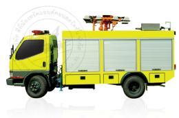 รถกู้ภัยไฟส่องสว่าง