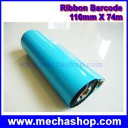 ริบบอนบาร์โค๊ด 110mm X 74m
