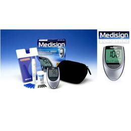 เครื่องวัดน้ำตาลในเลือด รุ่น MM1800set
