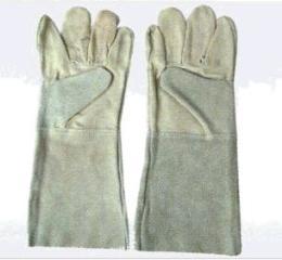 ถุงมือหนังผิวผสมหนังท้อง MIX SKIN LEATHER GLOVE