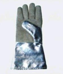 ถุงมือหนังผสมอลูมิไนซ์ GLOVE รุ่น HG - 1250
