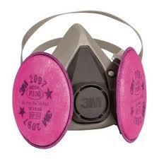 ชุดหน้ากากงานไอตะกั่ว แอสเบสตอส 3M 6000