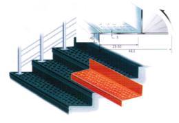 ยางลายเหรียญปูพื้นบันได (Staircase Tiles)