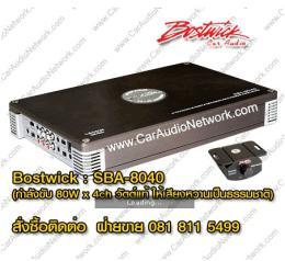 แอมป์รถยนต์ Bostwick - SBA-8040