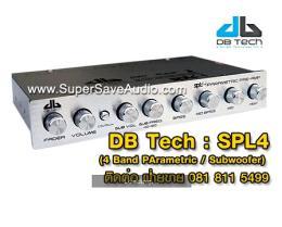 ปรีแอมป์รถยนต์ DB Tech - SPL4 (4 Band)