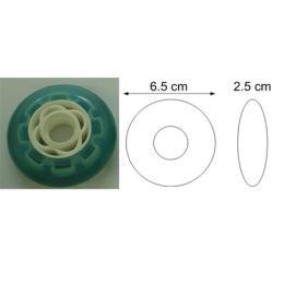 ล้อ Roller blade ขนาด 6.5 cm
