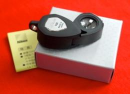 กล้องส่องพระ Nikon Tripet 10x Loupe