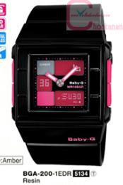 นาฬิกาข้อมือ คาสิโอ เบบี้จี   BGA-200-1EDR