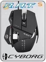 เมาส์เกมส์ Saitek Cyborg R.A.T 5 Gaming Mouse