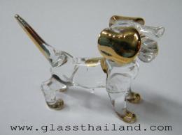 ตุ๊กตาแก้ว หมา 11002