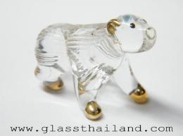 ตุ๊กตาแก้ว หมีขาวขั้วโลก 36001
