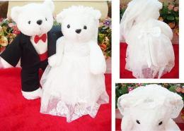 ตุ๊กตาหมีแต่งงาน