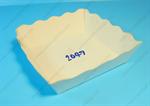 ถาดกระดาษ ถาดขนมจีบ พื้นขาว (PPC-002-2)