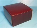 กล่องเค้กสี่เหลี่ยมจตุรัส สีน้ำตาล (UNI-8457)
