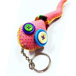พวงกุญแจ งู คละสี