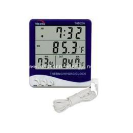 เครื่องวัดอุณหภูมิ 2 จุด ภายใน-ภายนอก และความชื้น TH-802
