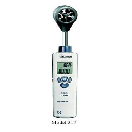 เครื่องวัดความเร็วลม ปริมาตร Anemometer Air Velocity