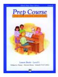 หนังสือ Prep Course Lesson Book E