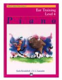 หนังสือ ABPL/Ear Training Book 4