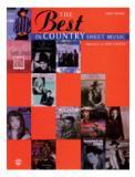 หนังสือ The Best in Country Sheet Music