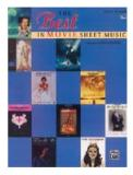 หนังสือ The Best in Movie Sheet Music