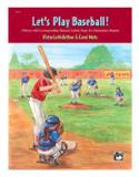 หนังสือ Let's Play Baseball!
