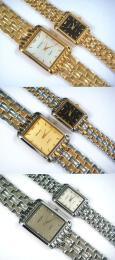 นาฬิกาข้อมือโลหะอัลลอยย์ HALEI -MCINRXM EA448ML