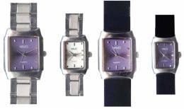 นาฬิกาข้อมือโลหะอัลลอยย์ HALEI -MCBB EA353ML