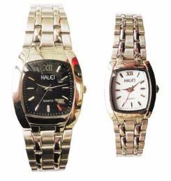 นาฬิกาข้อมือโลหะอัลลอยย์ HALEI -MCBB EA414ML