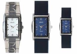 นาฬิกาข้อมือโลหะอัลลอยย์ HALEI -MCBB EA324ML