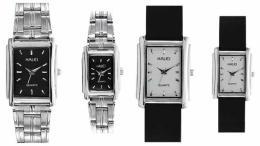 นาฬิกาข้อมือโลหะอัลลอยย์ HALEI -MCIJRXM EA321ML