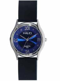 นาฬิกาข้อมือโลหะอัลลอยย์ HALEI -MCBB EA355ML