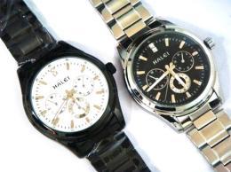นาฬิกาข้อมือโลหะอัลลอยย์ HALEI -MCJIRXM EA3004ML