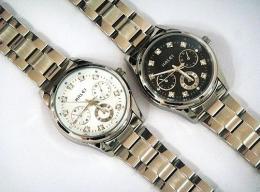 นาฬิกาข้อมือโลหะอัลลอยย์ HALEI -MCINMXM EA3004ML