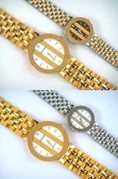 นาฬิกาข้อมือโลหะอัลลอยย์ HALEI -MCIMRXM EA447ML