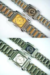 นาฬิกาข้อมือโลหะอัลลอยย์ HALEI -MCINRXM EA449ML