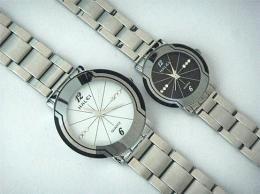 นาฬิกาข้อมือโลหะอัลลอยย์ HALEI -MCIIMXM EA457ML