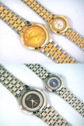 นาฬิกาข้อมือโลหะอัลลอยย์ HALEI -MCIMMXM EA463ML